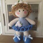 muñeca merceditas amigurumi