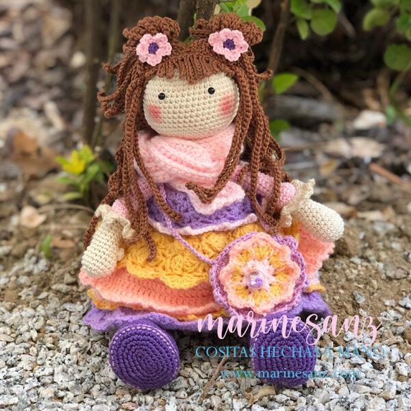 Muñeca Ellie Amigurumi